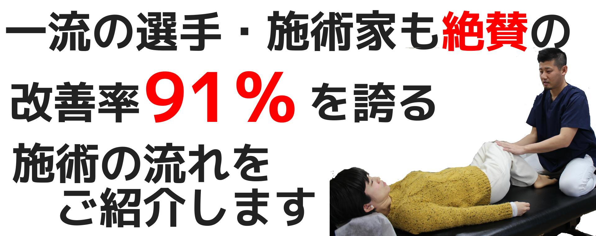 改善率91%
